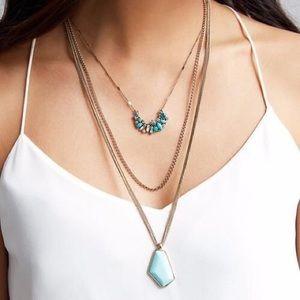 Aquamarina Convertible Pendant Necklace